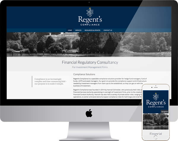 Financial regulatory website