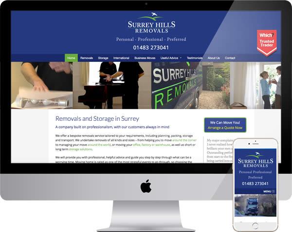 Surrey Hills Website