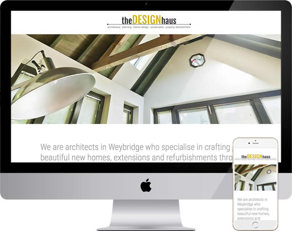 Weybridge architects website