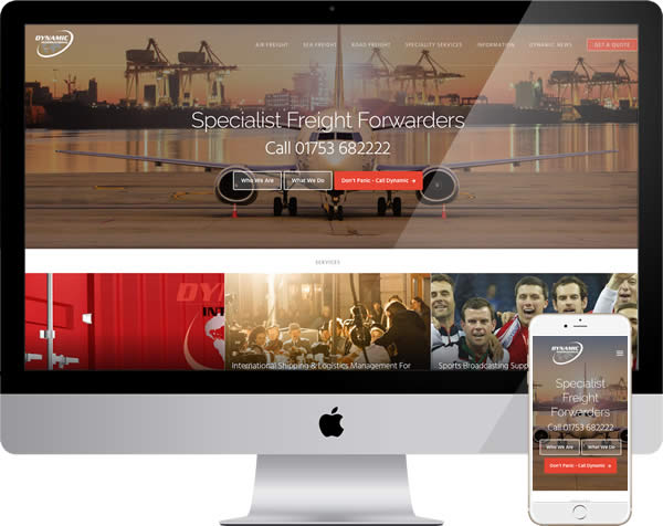 Freight company website