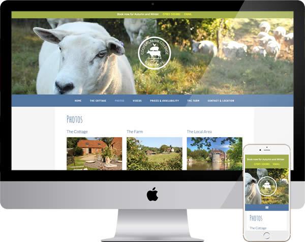 Farm cottage website
