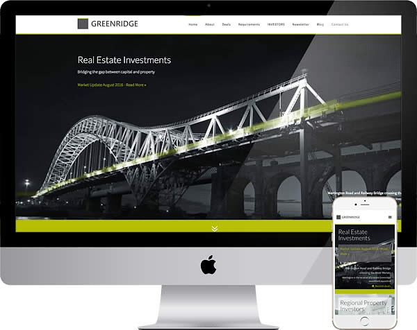 Real estate investment website
