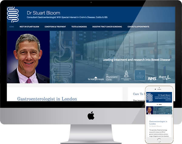 Medical consultant website