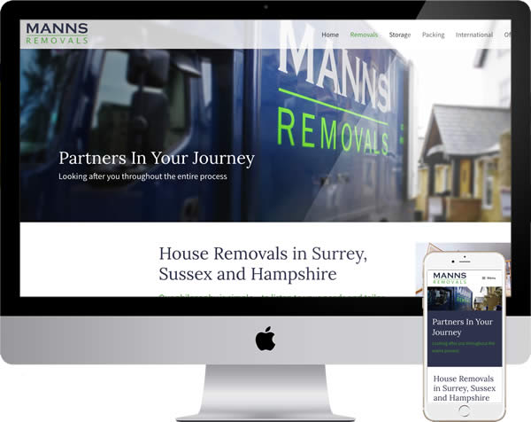 Removals Company Website