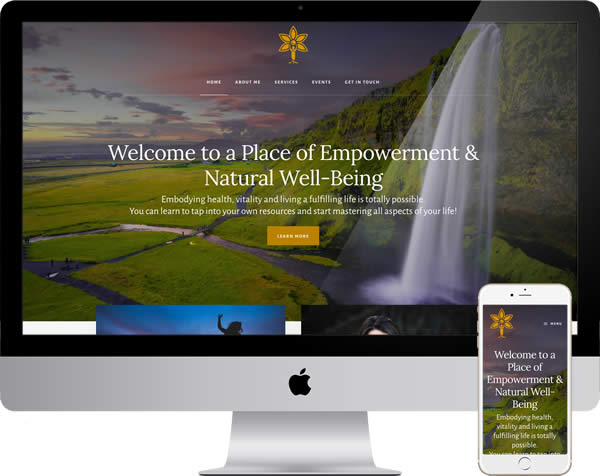 Marie Grand Website