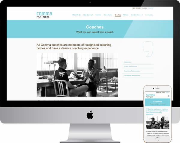 Commapartners Website