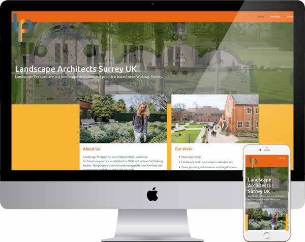 Landscape Architect Website