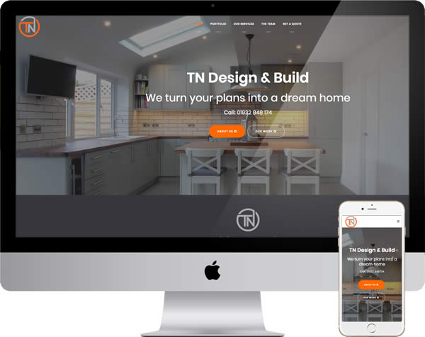 TN Design and Build Website