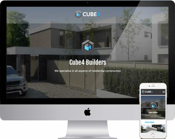 Cube4 Builders Website