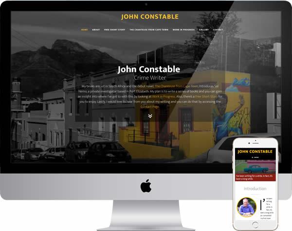 John Constable Author Website